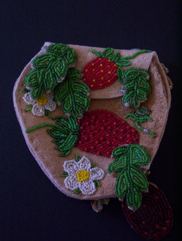 view 1 of 2 of the beaded purse